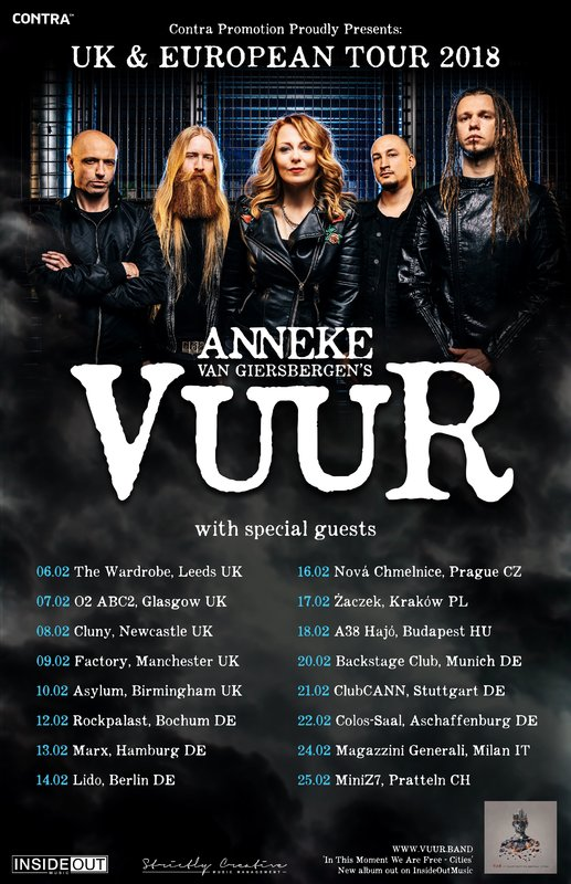 Vuur Tourposter