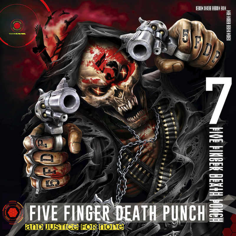 Five Finger Death Punch And Justice For None Cover