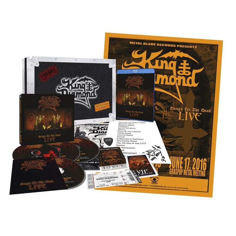 News King Diamond K 252 Ndigt Neue Dvd Blu Ray Quot Songs For